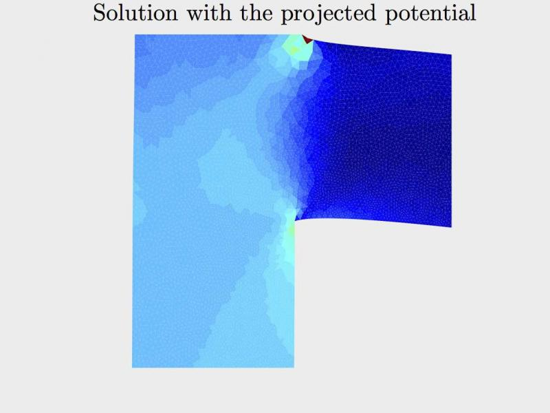 Projection-based solution